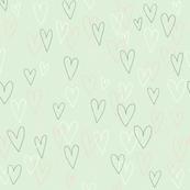 Valentine Outline (green)