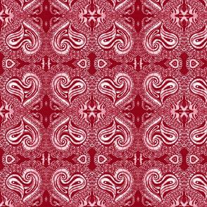 Batik Hearts