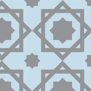 Silver Geometric
