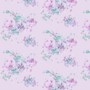 Leaves & Dots_Pink Based