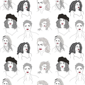 Many 80s Madonnas