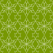 Rustic Star on Jungle Green