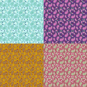 Paisley & Dots - Ethnic -Yard