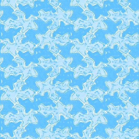 Foggy Blue Jigsaw Puzzle Pieces