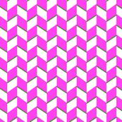 Pink & Green Zig Zag