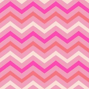 Chevron pink mix