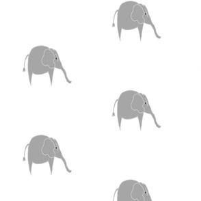 Baby Elephant Fabric - Spring Fabric Nursery