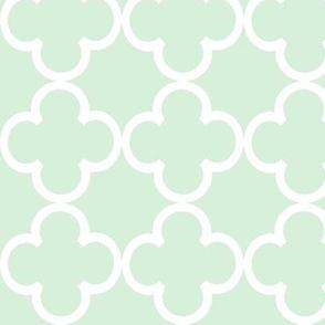 green lattice by Diane Gilbert
