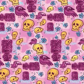 Tiki beware pink