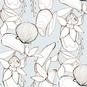 orchids and mussels