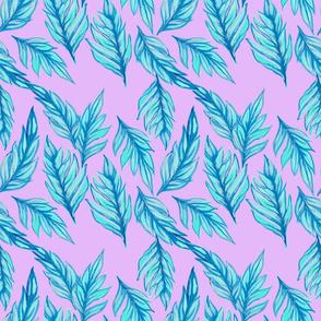 Blue Leaves Lavender
