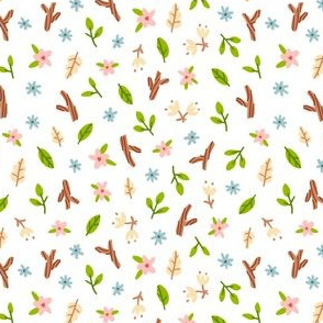 Small flowers pattern