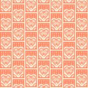 Little Valentine - salmon