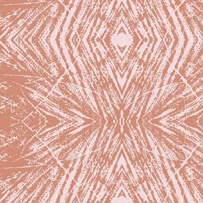 Lovely Log (Terra Cotta & Pink)