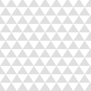 Medium Light Gray Triangles