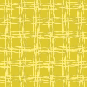 Spring plaid - small - green/yellow