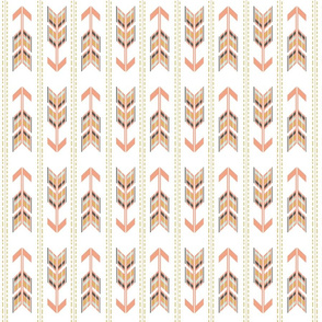 Arrows Multi Blush and Gold