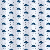 Whales and Fish on Stripes