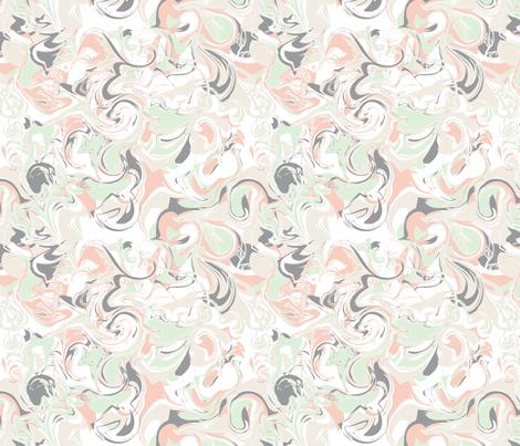 Swirl of Peach