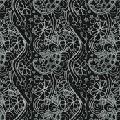 modern batik style print