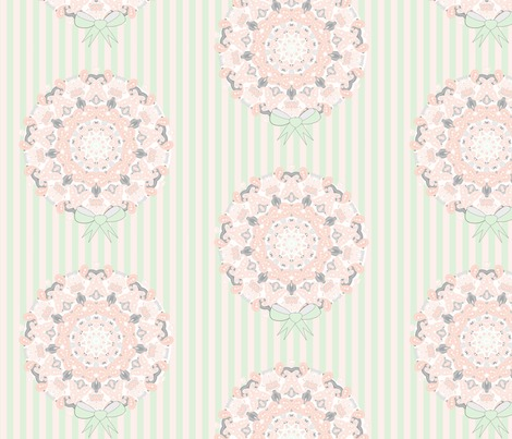 Rspoonflower_colors_on_trend_for_weddings_2016_pink_peach_mint_grey_floweery_bouquet_stripes_graphic_image_contest117222preview
