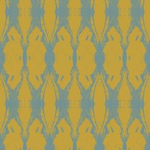 Anatomae (Blue on Yellow)