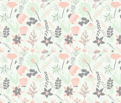 Rrwildflower_pattern_grey_cream_cucumber_peach_contest117238preview