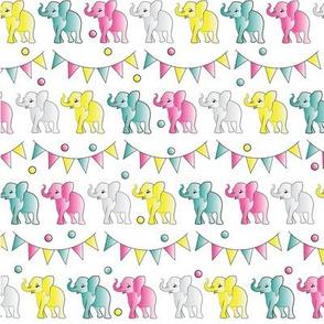 Elephantastic Party Print