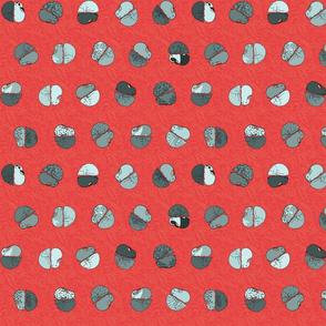 red hot polka dot