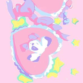 Valentine's puppies! pink