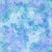 Watercolor Mirrored Blue Purple Turquoise