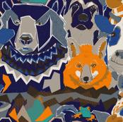Interspecies animal friendships orange