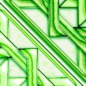 "Marble Quilt Green Diagonal 36"""