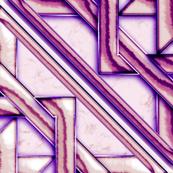 """Marble Quilt Purple Diagonal 36"""""""