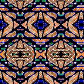 More Horizontal Tribal Stripes