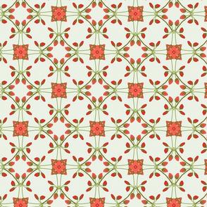 Rosebud lattice