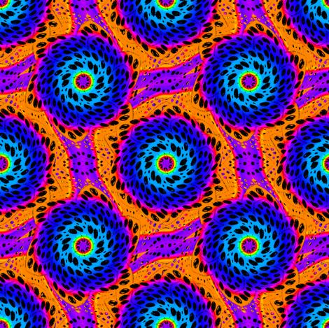 Rainbow Tie Dye Dot Bloom 5