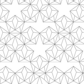 Triangles, Diamonds and Stars - Color yourself