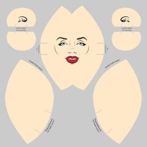 Marilyn Monroe Doll Head