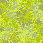Yellow and beige flowers