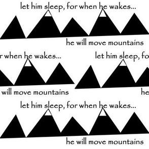 move mountains // black