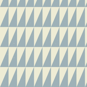 Dual Triangles Slate-Tan by Friztin