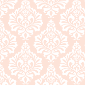 Wedding Bells Damask: Blush