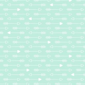 Wedding Bells Arrows: Mint