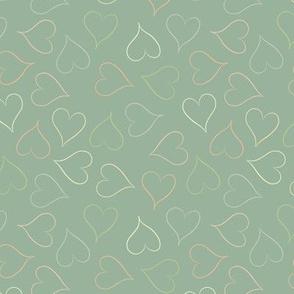 Pistachio hearts