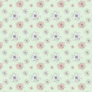 Wedding Floral Mint