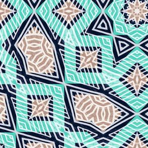Moroccan Mandala Tile 01