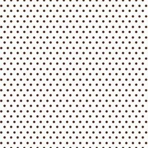 Polka Dots - Brown