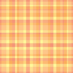 Peach Pie Plaid