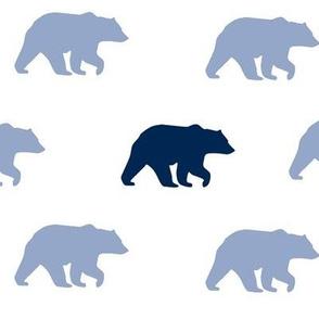 bear hike // denim & indigo